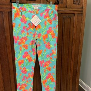 Bright and stretchy Gretchen Scott resort pants